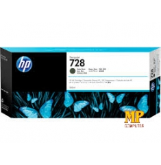Mực in HP 728 300-ml Matte Black DesignJet Ink Cartridge (F9J68A)