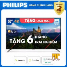 Smart Tivi Philips 55 inch 4K UHD 55PUT6023S/74