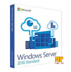 Windows Server Std 2016 64bit English 1pk DSP OEI DVD 16 Core (P73-07113)
