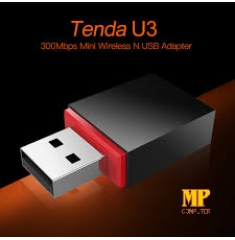 Tenda U3 300Mbps Mini Wireless 11N USB Adapter