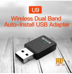 Tenda U9 is an 11ac dual band Wi-Fi Adapter