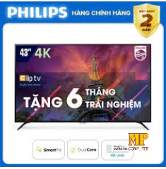 Smart Tivi Philips 43 inch 4K UHD 43PUT6023S/74