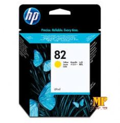Mực in HP 82 Yellow Ink Cartridge (C4913A)
