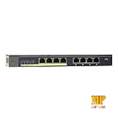 Switch NETGEAR GS108PE 8 Port Gigabit Ethernet PoE Smart Managed Plus Switch with 4-Ports PoE