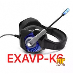 Headphone Gaming EXAVP-K6 LED FullBox Cao Cấp